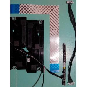 BN96-16799A / BN96-13227P / BN96-17614J Динамики, шлейфы, кнопки от UE32D4020