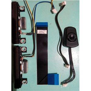 BN96-21668B / BN96-20370H / BN96-23694B - Динамики, кнопки, провода, шлейфы, модули беспроводной связи от UE26EH4000W с матрицей