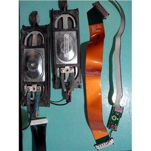 BN96-09463B / BN96-10076A / BN96-10362A - Динамики, кнопки, провода, шлейфы, модули беспроводной связи от LE37B530 с матрицей T3