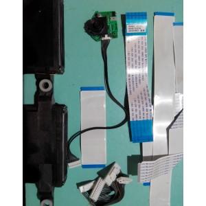 BN96-21670A / BN96-13325G / BN41-01804A  - Динамики, кнопки, провода, шлейфы от PS43E450