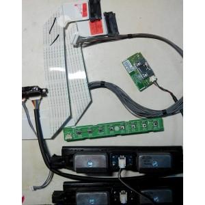 EAB62648901 - EBR75055703 - EBR74988801 - EAT61613401 - EAD62087805  - Динамики, кнопки, провода, шлейфы LG 42LM640