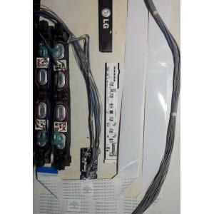 EAB60961501 - YW03196801A - YW030C6201A - EAD60974143 - EAD60974142 - Динамики, кнопки, провода, шлейфы LG 37LE5500