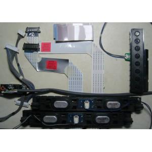 EAB62088401 - EAD61668615 - EAD61652505 - EBR73268201-64 - EBR72670801  - Динамики, кнопки, провода, шлейфы LG 42LW575S