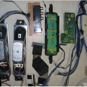 EAS168078 - TNP4G447 - TNP4G450 - TNP4G448 - Динамики, кнопки, провода, шлейфы TX-R32LX80KS