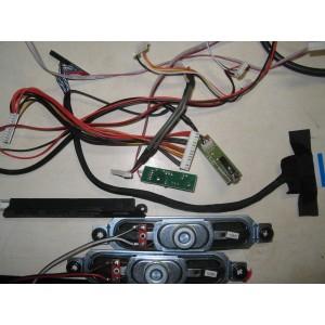 YDT313-8NBKH Динамики, кнопки, провода, шлейфы LES-32V01M
