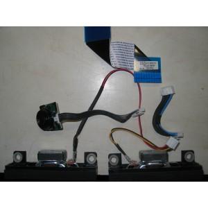 BN96-21668A - BN96-20370B - BN41-01828A - Динамики, кнопки, провода, шлейфы от UE22ES5000W