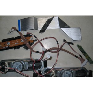 L0AA14B - TNP4G502 AN 1GK - TNPA5378 2 KA - Динамики, кнопки, провода, шлейфы TX-LR32U3A