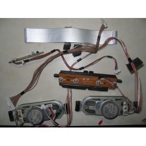 L0AA10B - TNP4G502 AA 1GK - TNPA5378 2 KA - Динамики, кнопки, провода, шлейфы TX-LR32C3