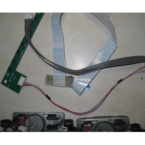 40-30916E-XX0G - 40-16T210-FBA2LG - Динамики, кнопки, провода, шлейфы SUPRA STV-LC16850WL