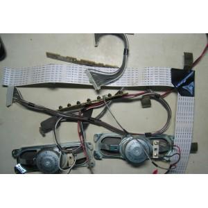 1-858-364-13 - 1-880-417-11 - 1-880-416-11 - Динамики, кнопки, провода, шлейфы от SONY KLV-32BX301