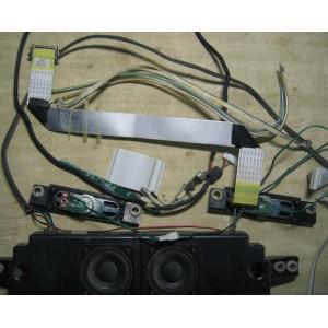 BN96-06820B — BN96-06819A — BN96-07161J — BN41-00994A - BN41-00722A - Динамики, шлейфы, кнопки от LE40A556P1F
