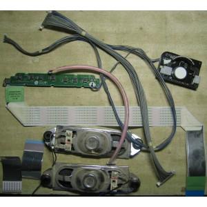 EAB41280202 — EAD60679352 — EAX52836502 (0) — EAX44059405 (0) - Динамики, шлейфы, кнопки от 37LF2510