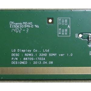 6870S-1702A — ROW2.1 32HD SONY VER 1.0 - TCON