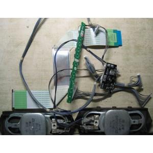 EAB58304302 — EAD60690923 — EAX56608701 (2) — YW98KC7401A - Динамики, кнопки, провода, шлейфы от 32LH2000